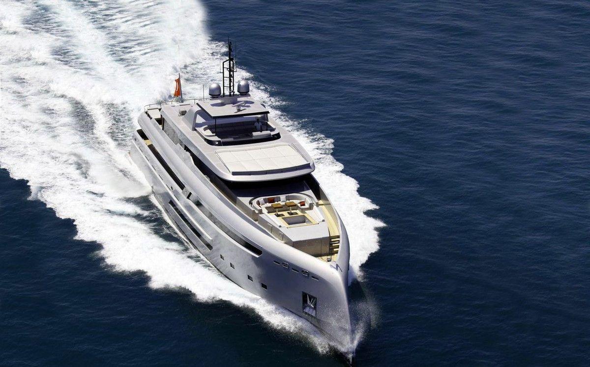 Yacht a motore in Turchia